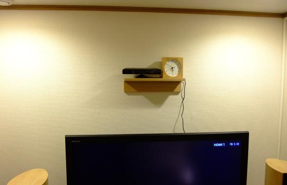壁置きKinect