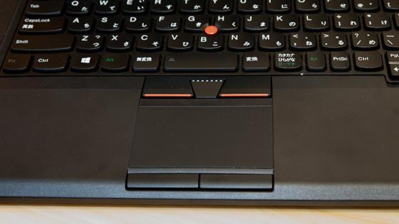 ThinkPad T430s マルチタッチ・タッチパッド